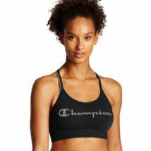 Champion szivacsos sportmelltartó - fekete