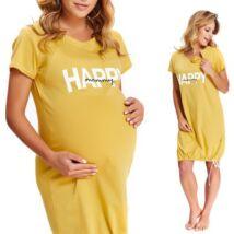 Doctor Nap Happy Mommy kismama hálóing - sárga
