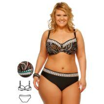 Bahama barna-türkiz török mintás extra bikini