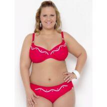 Bahama piros-fehér extra bikini