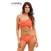 Carib Swimwear Romantic Vintage egyvállas bikini - korall