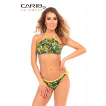Carib Swimwear 20 fekete Jungle bikini - top