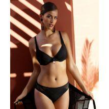 Feba fekete csipke extra bikini F03