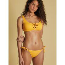 Ysabel Mora Citrus top fazonú bikini - sárga