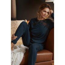 Lisca Evelyn hosszú pizsama - Blue Lake