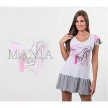 Mania Fashion fodros hálóing