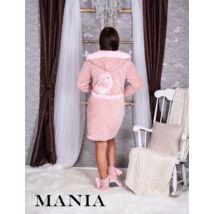 Mania köntös - Láma - púder-rózsaszín