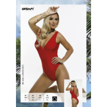 Origami Bikini 20 Oahu Red egyrészes fürdőruha