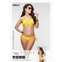 Origami Bikini 21 Oceanside Lemon push up háromszög