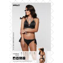 Origami Bikini 21 New York Black push up háromszög