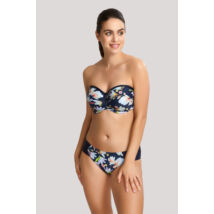 Panache Florentine bandeau bikinifelső - Navy Floral