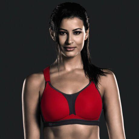 Anita dynamiX star sportmelltartó - Piros