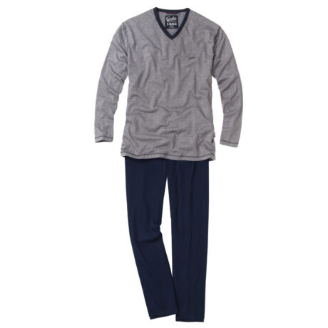 Ceceba férfi pizsama - Grey Melange
