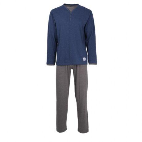 Ceceba férfi pizsama - Navy/Grey