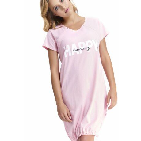 Doctor Nap Happy Mommy kismama hálóing - rózsaszín