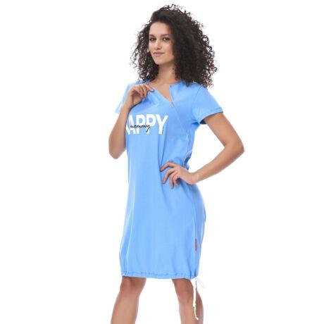 Doctor Nap Happy Mommy kismama hálóing - élénk kék