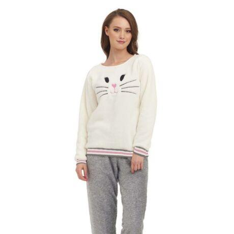 DN- Nightwear wellsoft pizsama - ekrü