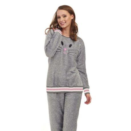 DN- Nightwear wellsoft pizsama - szürke