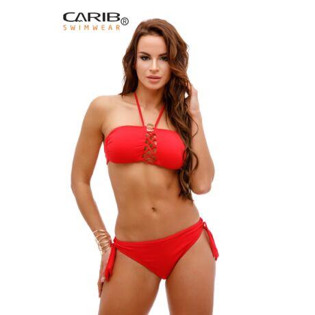 Carib Swimwear 19 Summer Vibes csíkfazonú bikini - piros