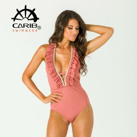 Carib Swimwear 21 egyrészes fürdőruha - mályva