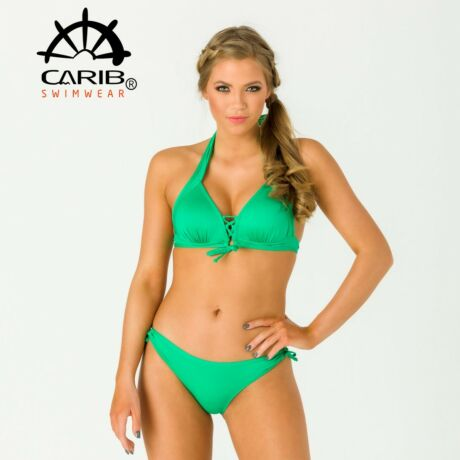 Carib Swimwear 21 push up háromszög bikini - zöld