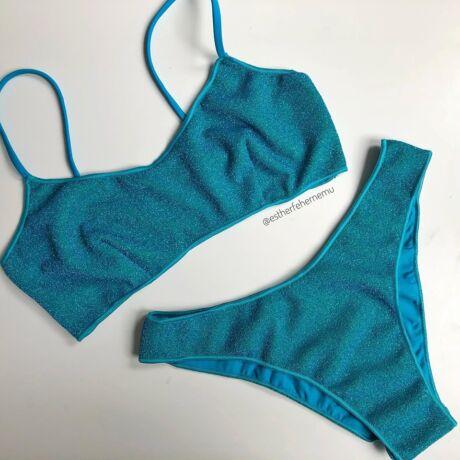 Noidinotte 20 Lurex bikini - kék