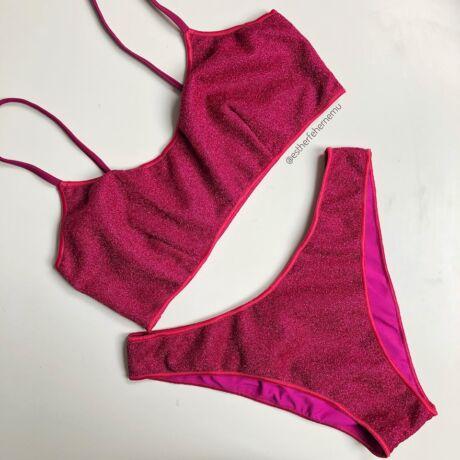 Noidinotte 20 Lurex bikini - pink