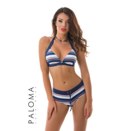 Paloma 19 bikini 403 - kék csíkos