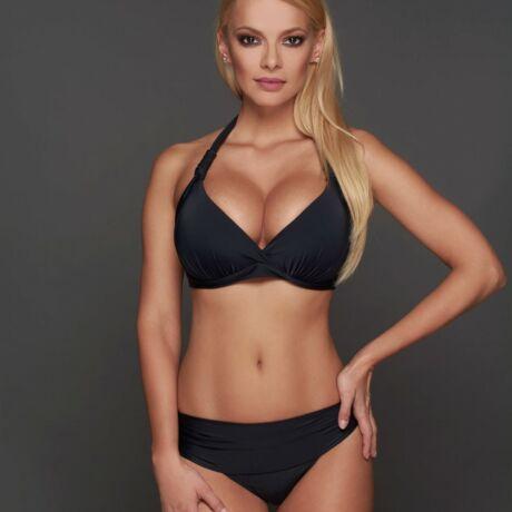 Pyramid Corse bikini - fekete