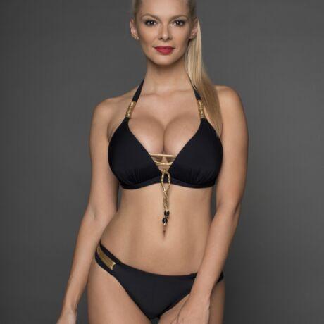 Pyramid Copacabana bikini - fekete-arany