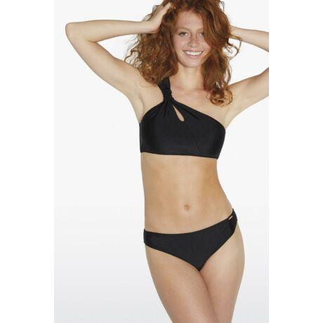 Ysabel Mora Citrus félvállas bikini - fekete
