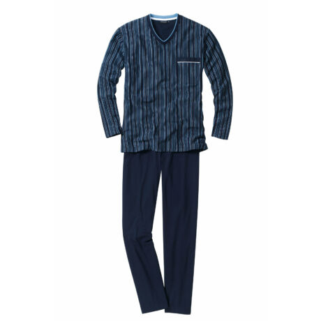 Götzburg férfi pizsama - Navy