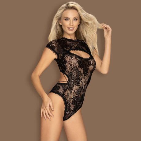 Obsessive Peonesia body - fekete