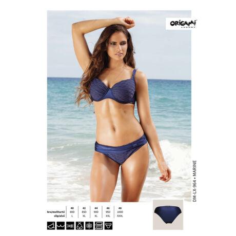 Origami Bikini Marine D kosaras fürdőruha