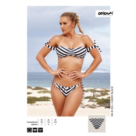 Origami Bikini 19 Candy Black KK-M-931