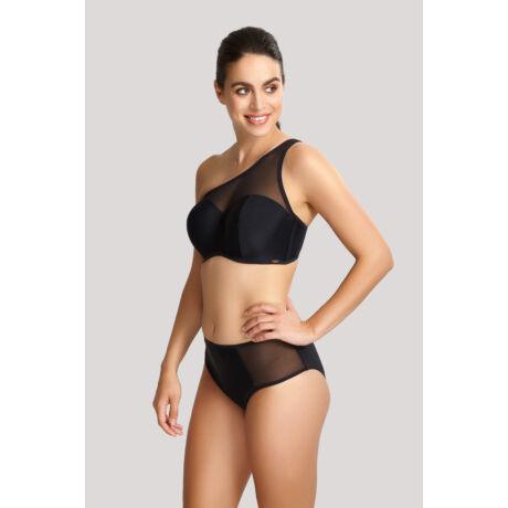 Panache Onyx félvállas bikinifelső