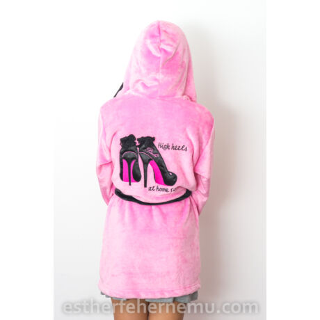 Norielle köntös - Stiletto- rózsaszín-fekete