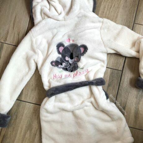Norielle köntös - Koala- ekrü-szürke