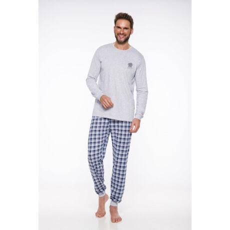 Taro Konrad férfi pizsama - szürke