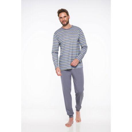 Taro Max férfi pizsama - szürke