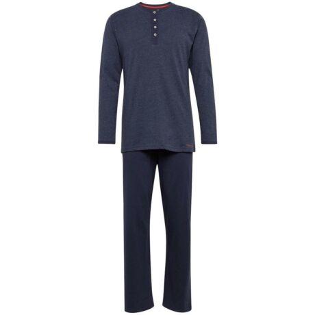 Tom Tailor férfi pizsama - sötétkék